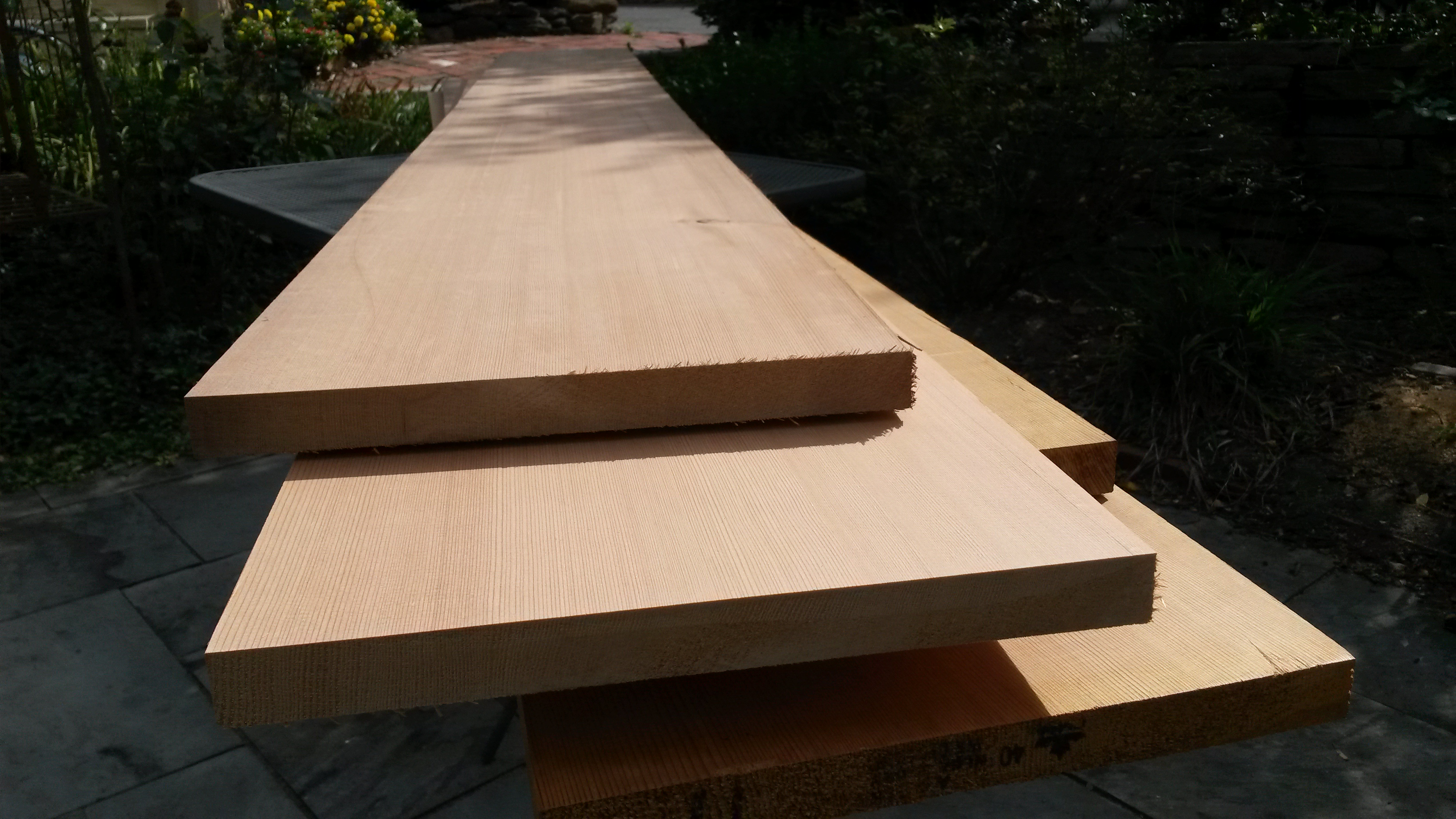 Medium Density Overlay Board ~ Solid cedar signs versus mdo medium density overlay