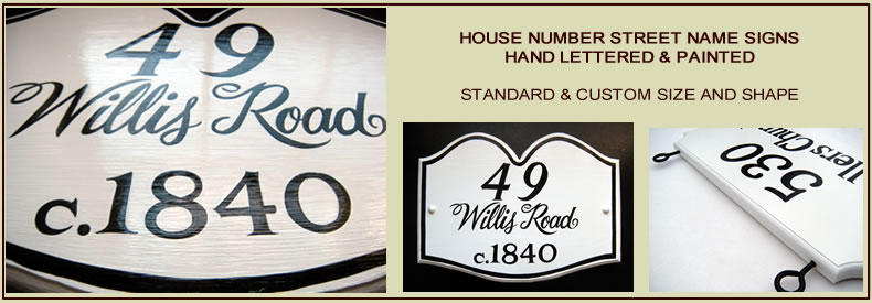 cottage sign hand lettered