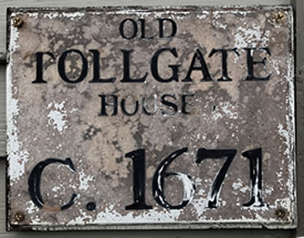 Historic House Signs, Wood Hand Painted Circa Plaques
